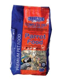 Marltons - Parrot Food With Chillies - 800g