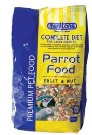 Marltons - Parrot Food With Fruit & Nut - 800g