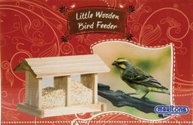 Marltons - Wood Bird Feeder - Rectangular