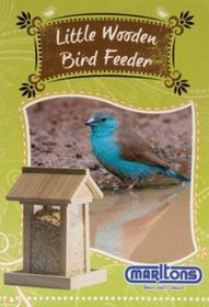 Marltons - Wood Bird Feeder - Square