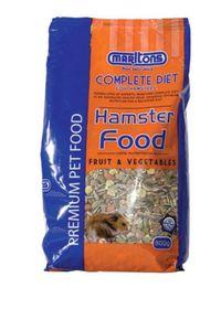 Marltons - Hamster Food With Fruit & Veg - 0.8kg