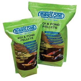 Marltons - Pond Pellets - Small 2mm Bottle - 1kg