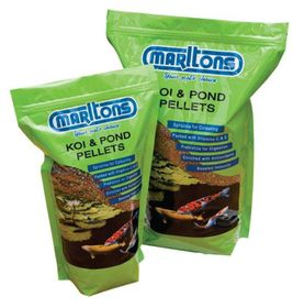 Marltons - Pond Pellets Large - 4mm Bottle - 1kg