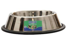 Marltons - Anti Slip Stainless Steel Dog Bowl - 900ml