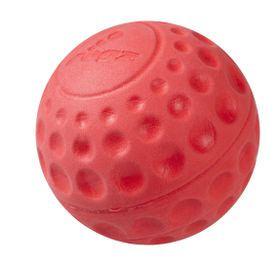 Rogz - Dog Asteroidz Ball - Small 4.9cm - Red