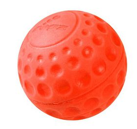 Rogz - Asteroidz 64mm Dog Ball Toy - Orange