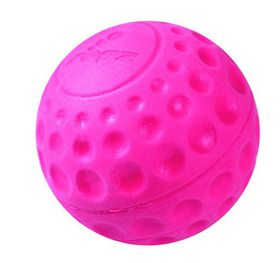 Rogz - Asteroidz 78mm Dog Ball Toy - Pink