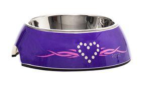 Rogz - Dog Bubble Bowl 2-in-1 - Small 160ml - Purple