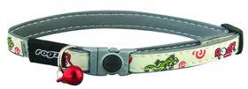 Rogz - GlowCat 11mm Glow-in-the-Dark Collar - Gecko