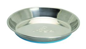 Rogz - Bowlz Stainless Steel 200ml Bowl - Blue Base
