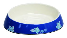 Rogz - Bowlz 200ml Fishcake Bowl - Blue Floral