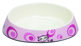 Rogz - Bowlz 200ml Fishcake Bowl - Pink Floral