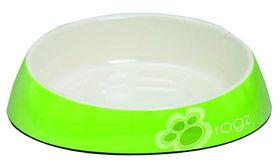 Rogz - Bowlz 200ml Fishcake Bowl - Lime Paw
