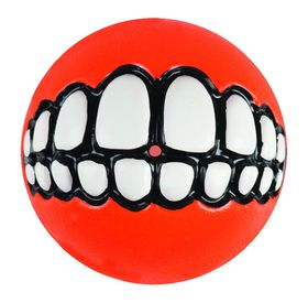 Rogz - Grinz 64mm Dog Treat Ball - Orange