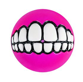 Rogz - Grinz 64mm Dog Treat Ball - Pink