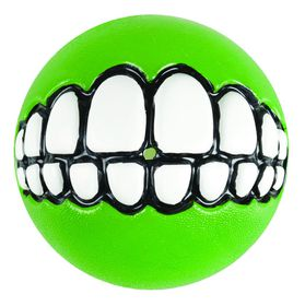 Rogz - Grinz 64mm Dog Treat Ball - Lime