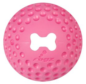Rogz - Gumz 49mm Dog Treat Ball - Pink