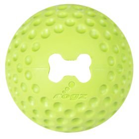 Rogz - Dog Gumz Treat Ball - Small 4.9cm - Lime