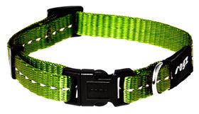 Rogz - Utility 11mm Dog Collar - Lime