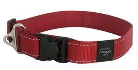 Rogz - Utility 2 x Extra-Large Landing Strip Collar - Red