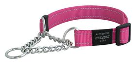 Rogz - Utility 16mm Half-Check Collar - Pink