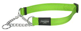 Rogz - Utility Medium Snake Dog Check Collar - Lime
