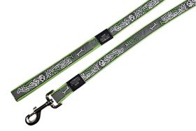 Rogz Fancy Dress Medium Scooter Fixed Lead - Lime