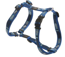 Rogz - Fancy Dress Large Beachbum Dog H-Harness - Navy