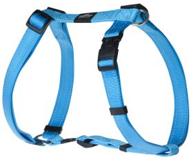 Rogz - Utility 25mm Dog H-Harness - Turquoise