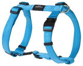 Rogz - Utility Large Fanbelt Dog H-Harness - Turquoise