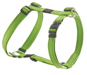 Rogz - Utility 20mm Dog H-Harness - Lime