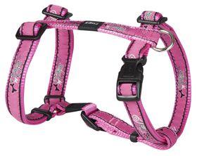 Rogz - Fancy Dress Medium Scooter Dog H-Harness - Pink