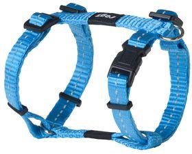 Rogz - Utility Small Nitelife Dog H-Harness - Turquoise