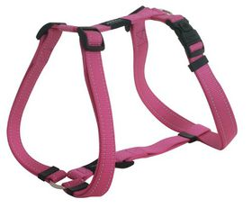 Rogz - Utility Small Nitelife Dog H-Harness - Pink