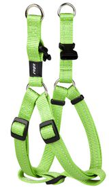 Rogz - Utility Medium Snake Dog Step-In Harness - Lime
