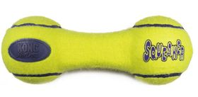 Kong -  Dog Toy Airdog Squeaker Dumbbell - Small - Yellow