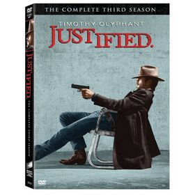 Justified:Complete Third Season - (Region 1 Import DVD)