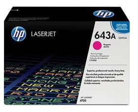 HP No. 643A Magenta Print Cartridge