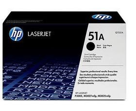 HP Q7551A Black Toner