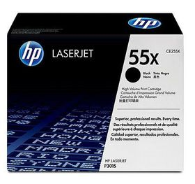 HP No. 55X Black Print Cartridge