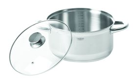 Legend - Euro Chef 5 Litre Stainless Steel Casserole - 24cm Silver