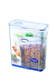 Lock and Lock - Rectangular Cereal Container With Flip Lid - 4.3 Litre