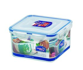 Lock and Lock - Square Food Storage Container - 1.2 Litre
