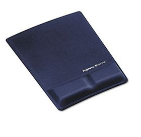 Fellowes Mouse Pad / Palm Support - Blue