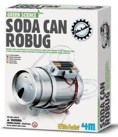 Green Science - Soda Can Robug