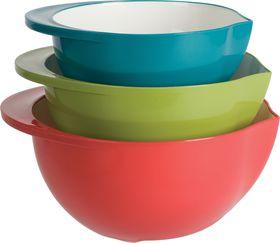 Trudeau - 3 Piece Mixing Bowl Set