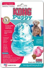 Kong -  Puppy - Large - Blue & White