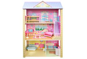 3 level doll house with furniture buy online in south for House and home furniture shop in pretoria