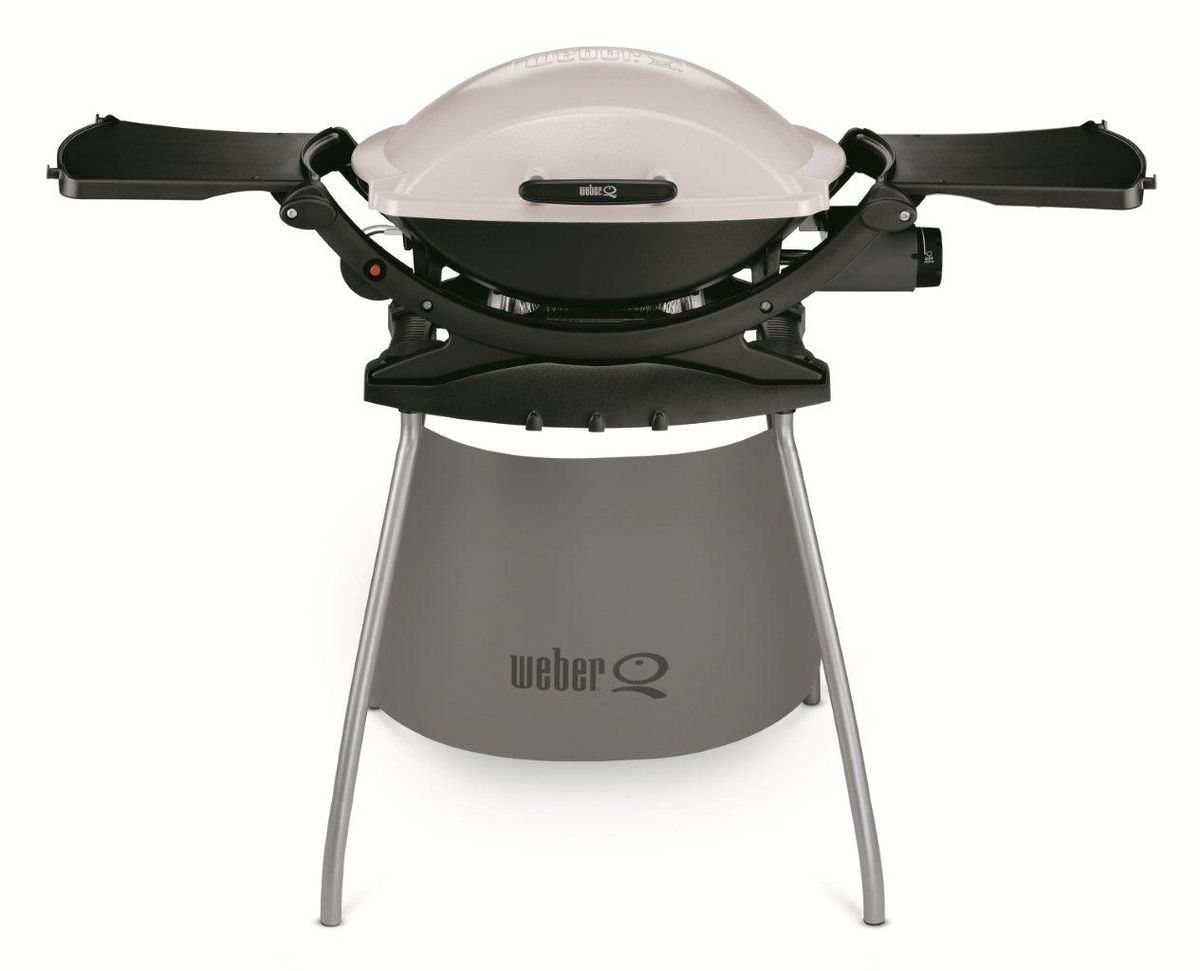weber q 200 gas grill and cart buy online in south. Black Bedroom Furniture Sets. Home Design Ideas