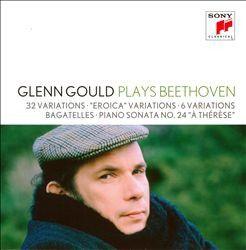 Gould Glenn - Glenn Gould Plays Beethoven: 32 Variations (CD)